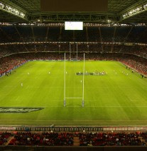 10.11.12 Wales v Argentina - Dove Men Series 2012 - Commercial Partner Ad © Huw Evans Agency